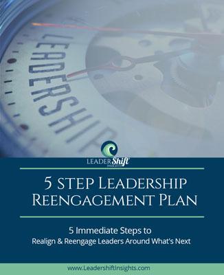 5 Step Leadership Reengagement Plan